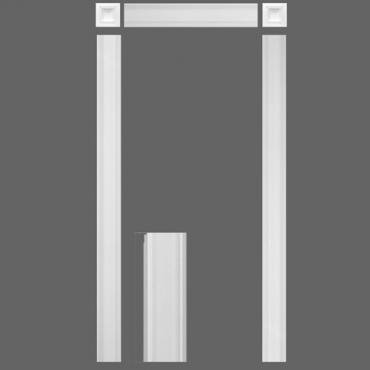 дверное обрамление из дюрополимера kx001