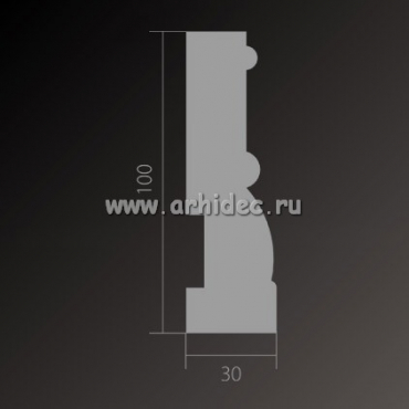 плинтус base 014