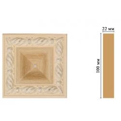Цветная лепнина вставка Decomaster D207-11